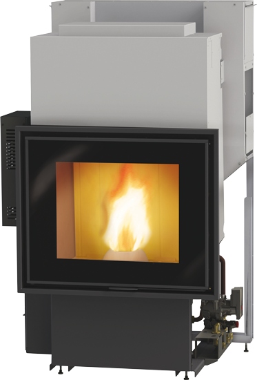 Fireplaces wood and pellet burning stoves fireplace for Stufa a pellet edilkamin daisy