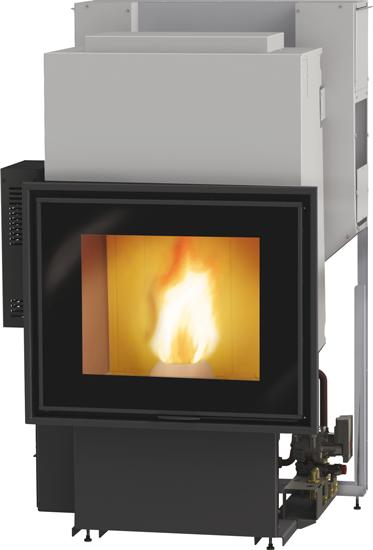 Termocamini a pellet edilkamin termocamino e caminetti for Vulcano termocamini pellet