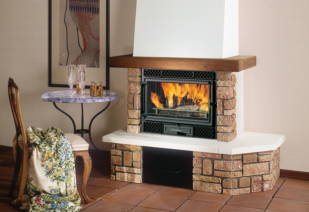 Chimenea r stica chimeneas r sticas de calentamiento for Chimeneas tradicionales