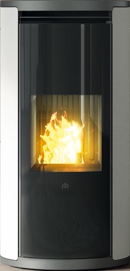 Caminetti stufe a pellet e legna edilkamin termocamini termostufe caldaie pellet - Stufe a legna edilkamin prezzi ...